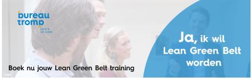 Boek hier jouw Green Belt training